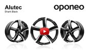 Alutec Shark Black ● Alloy Wheels ● Oponeo™