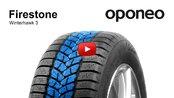 Tyre Firestone Winterhawk 3 ● Winter Tyres ● Oponeo™