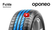Tyre Fulda SportControl ● Summer Tyres ● Oponeo™