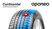 Tyre Continental ContiPremiumContact 5 ● Summer Tyres ● Oponeo™