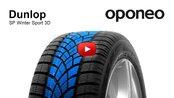 Dunlop SP Winter Sport 3D ● Winter Tyres ● Oponeo™