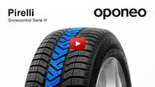 Pirelli Snowcontrol Serie III ● Winter Tyres ● Oponeo™