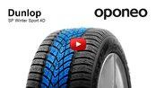 Dunlop SP Winter Sport 4D ● Winter Tyres ● Oponeo™