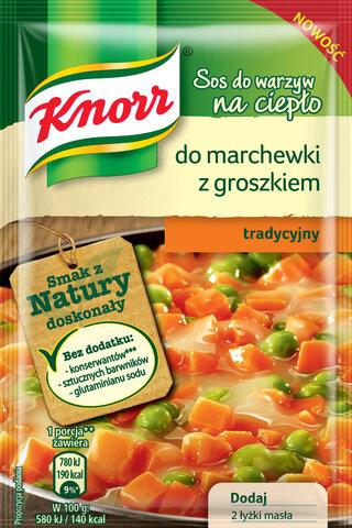 Sos do warzyw na cieplo Knorr do marchewki  z groszkiem.jpg