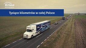Enea Truck. 13 miast w Polsce. Mnóstwo iskrzących emocji. Odwiedź www.energiaplus.pl i sprawdź czy będziemy w Twoim mieście!