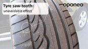 Uneven tyre wear ● Hints from Oponeo™