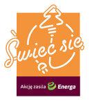 Świeć Się z ENERGĄ - logo 400x450 pikseli