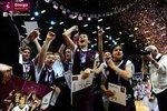 Ceremonia dekoracji zwycięzców Energa Basket Cup 2015