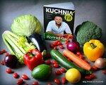"""Promocja książki """"Kuchnia Fit"""" Konrada Gacy w blogosferze"""