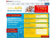W Wirtualnej Polsce kredyt hipoteczny tańszy niż w banku