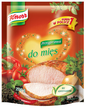 Zdjęcie: Przyprawa do mięs Knorr Numer 1 w Polsce - Przyprawiaj po mistrzowsku!
