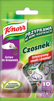 Zdjęcie: Mini kostki Knorr - maksymalny smak! Ulubione przyprawy w nowych opakowaniach
