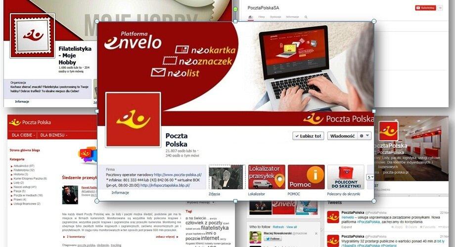 Poczta Polska: nowy blog, Twitter, filatelistyka na Facebooku