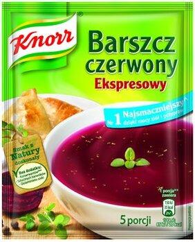 Zdjęcie: Barszcz czerwony Ekspresowy Knorr – najsmaczniejszy dzięki mocy ziół i przypraw