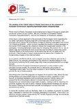 PUPC position on the proposal of EU regarding lightweigt plastic shopping bags