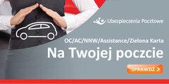 Poczta Polska: Ubezpieczenia Pocztowe ze zniżkami w czasie kampanii reklamowej