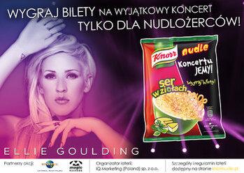 Zdjęcie: KoncertuJEMY! Nudle Knorr i Universal Music Polska we wspólnej kampanii dla fanów muzyki