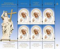 Kanonizacja Papieża Jana Pawła II - Wspólna emisja Polski i Watykanu