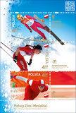 Polscy złoci medaliści olimpijscy na znaczkach Poczty Polskiej