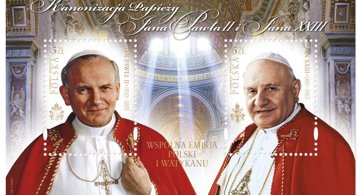 Poczta Polska: znaczki z papieżem Janem Pawłem II