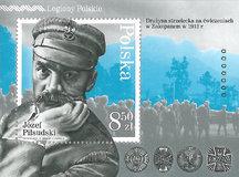 """""""Legiony Polskie"""" na znaczku pocztowym"""
