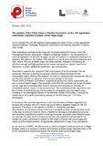 Position of  PUPC  on amandments of EU legislation concerning plastic carrier bags