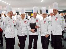 Polscy kucharze - juniorzy wrócili z brązem  z Kulinarnego Pucharu Świata w Luxemburgu