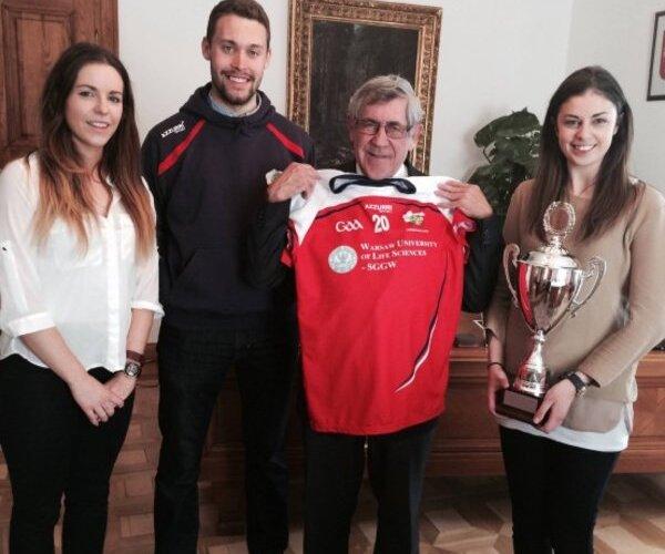 Zagraniczni studenci SGGW Mistrzami Europy w futbolu irlandzkim