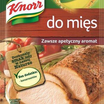 Zdjęcie: Szczypta smaku. Przyprawa do mięs Knorr w nowym opakowaniu