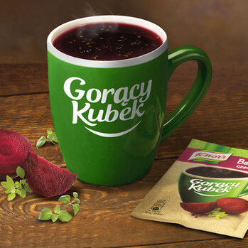 Zdjęcie: Gorący Kubek Knorr w nowej odsłonie - ten sam doskonały smak bez dodatku glutaminianu sodu