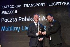 Poczta Polska z nagrodą Gazety Bankowej za projekt Mobilny Listonosz