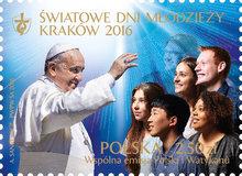 Światowe Dni Młodzieży na znaczkach Poczty Polskiej