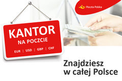 """Poczta Polska zapewnia w wakacje gotówkę """"na teraz"""" i wymianę walut w 840 kantorach"""