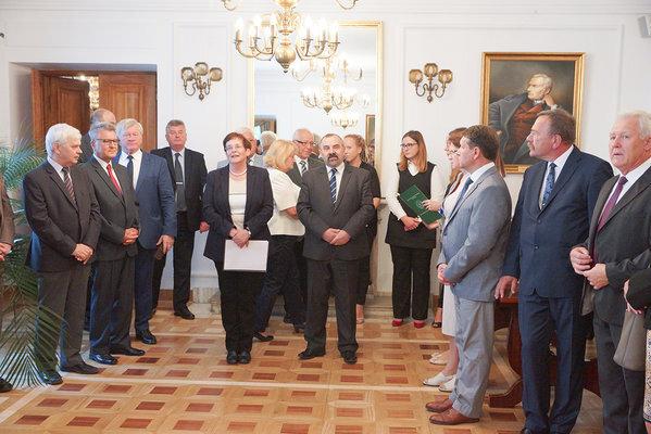 Wręczenie nominacji władzom uczelni oraz wydziałów