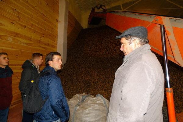 Rekordy plonów ziemniaków w RZD SGGW Żelazna