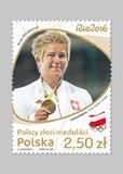 Poczta Polska: Polscy złoci medaliści