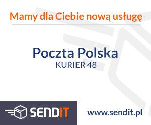 Przesyłki kurierskie Poczty Polskiej dostępne na Sendit.pl