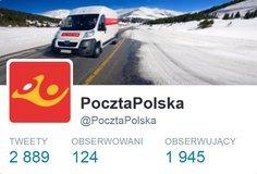 Sotrender: Poczta Polska w czołówce aktywnych profili na Twitterze