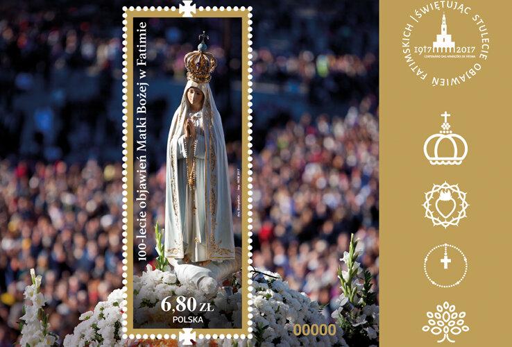 Międzynarodowa emisja filatelistyczna z okazji 100-lecia objawień Matki Bożej w Fatimie