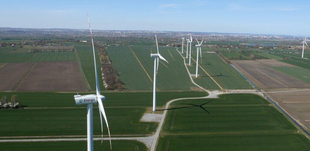 Na farmie wiatrowej Energi powstanie największy w Polsce magazyn energii
