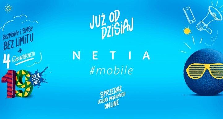 Hashtagowa oferta mobilna Netii
