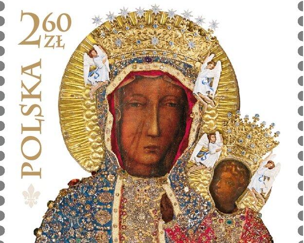 Poczta Polska wyda znaczek z okazji 300-lecia koronacji obrazu Matki Bożej Częstochowskiej