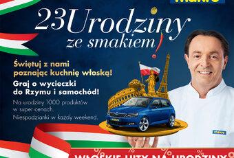 MAKRO Polska świętuje 23. urodziny z Michelem Moranem