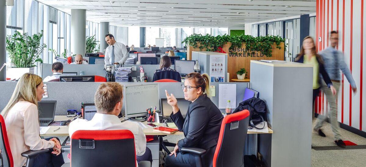 Biuro Cushman & Wakefield w Metropolitanie w nowej i funkcjonalnej odsłonie
