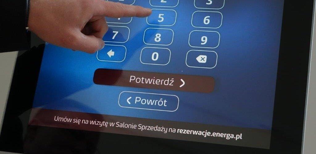 Energa: już tysiące klientów rezerwuje wizytę w salonie on-line
