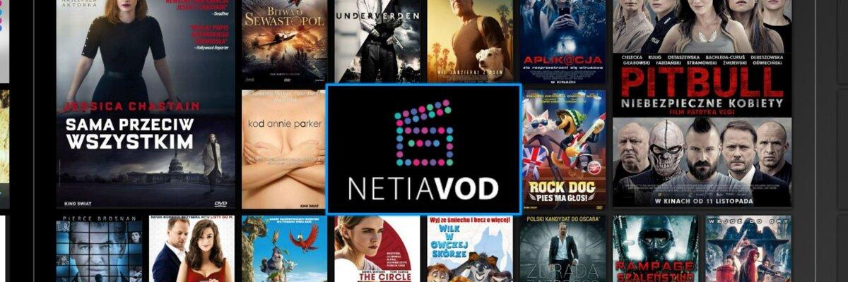 Filmowe hity w nowym serwisie Netia VOD