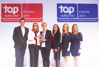 MAKRO Polska z certyfikatem TOP Employer of the Year