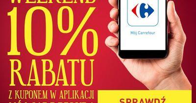 W weekendy klienci Carrefour płacą 10% mniej