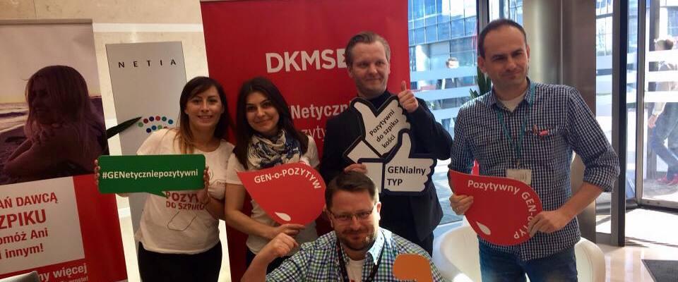 Akcja DKMS - Zostań Dawcą Komórek Macierzystych