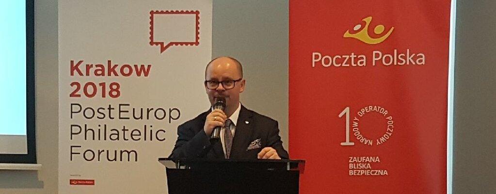 Poczta Polska gospodarzem Forum Filatelistycznego PostEurop w Krakowie